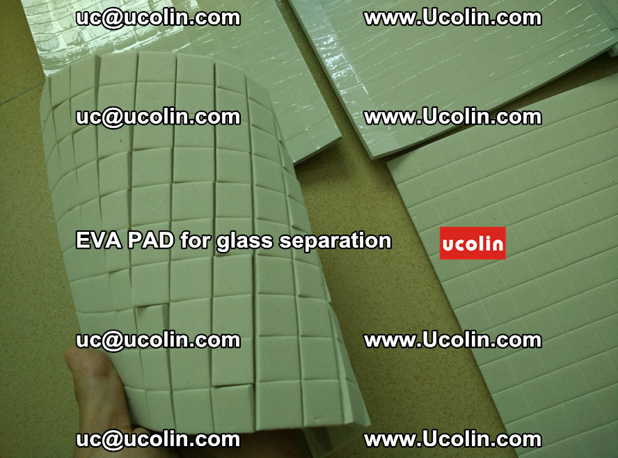 EVA PAD for safety laminated glass separation (4)