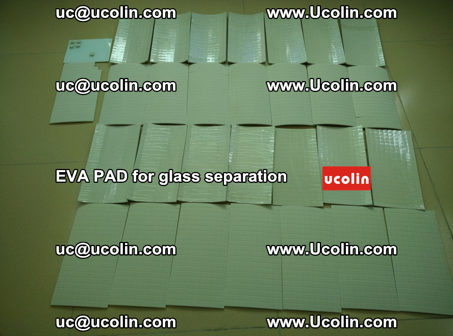EVA PAD for safety laminated glass separation (49)