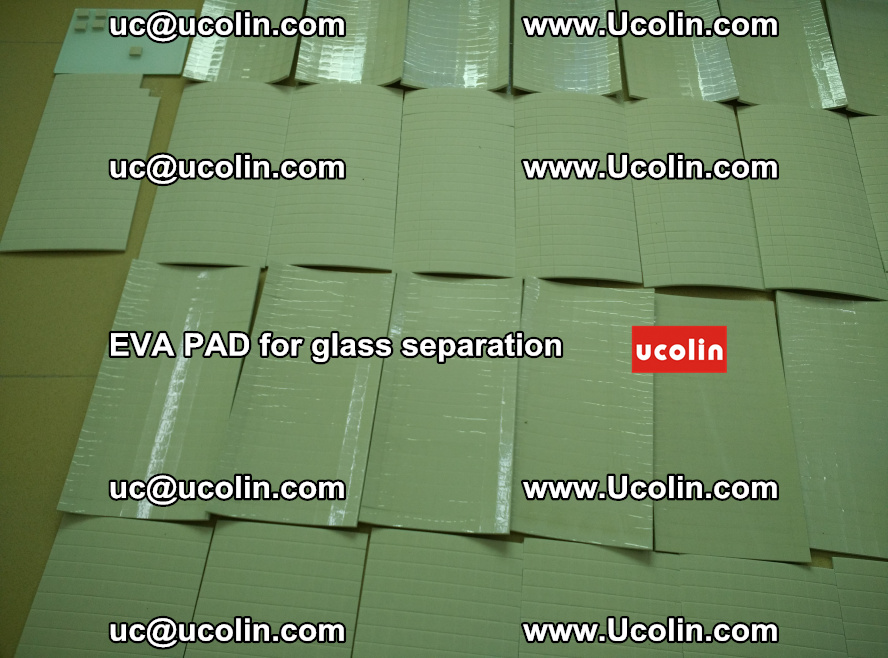 EVA PAD for safety laminated glass separation (59)