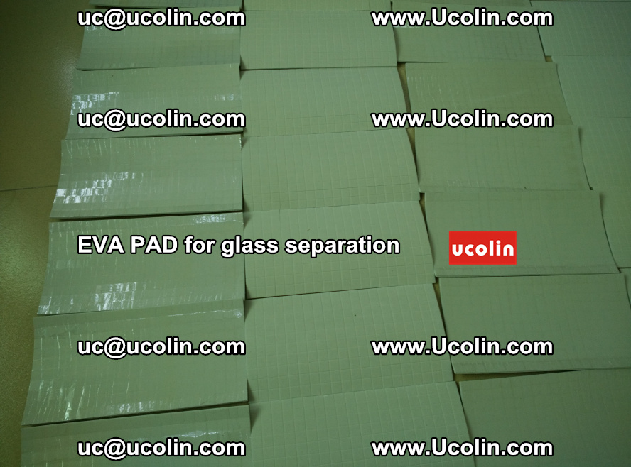 EVA PAD for safety laminated glass separation (68)