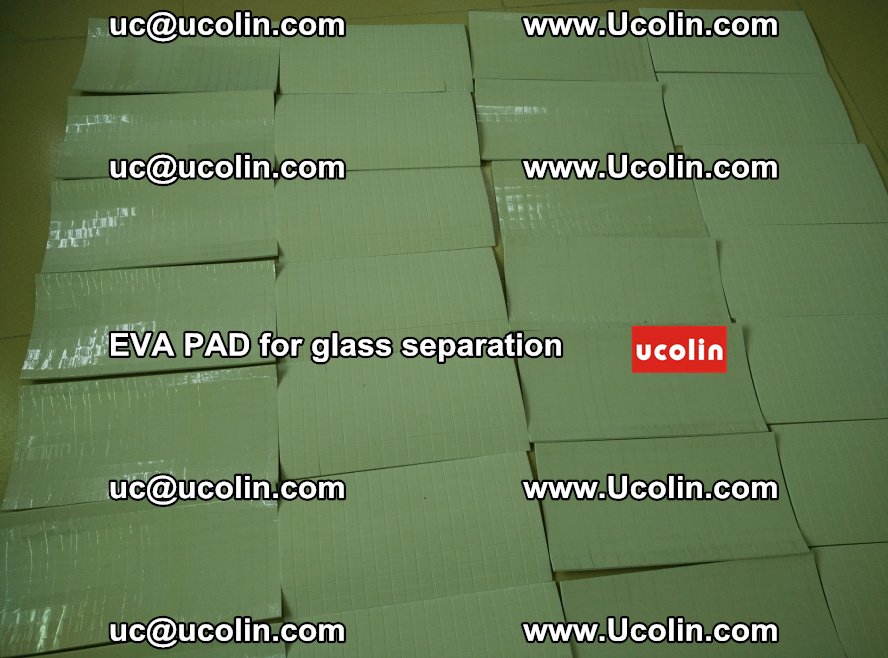 EVA PAD for safety laminated glass separation (70)