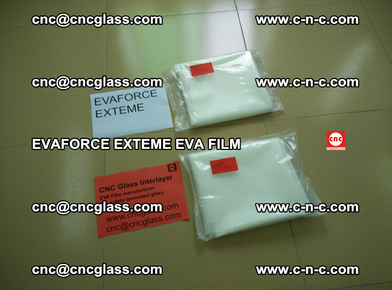 EVAFORCE EXTEME EVA FILM for safety glass laminating (100)