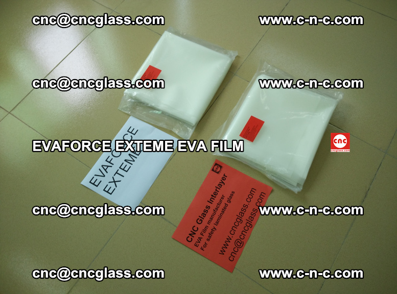 EVAFORCE EXTEME EVA FILM for safety glass laminating (104)