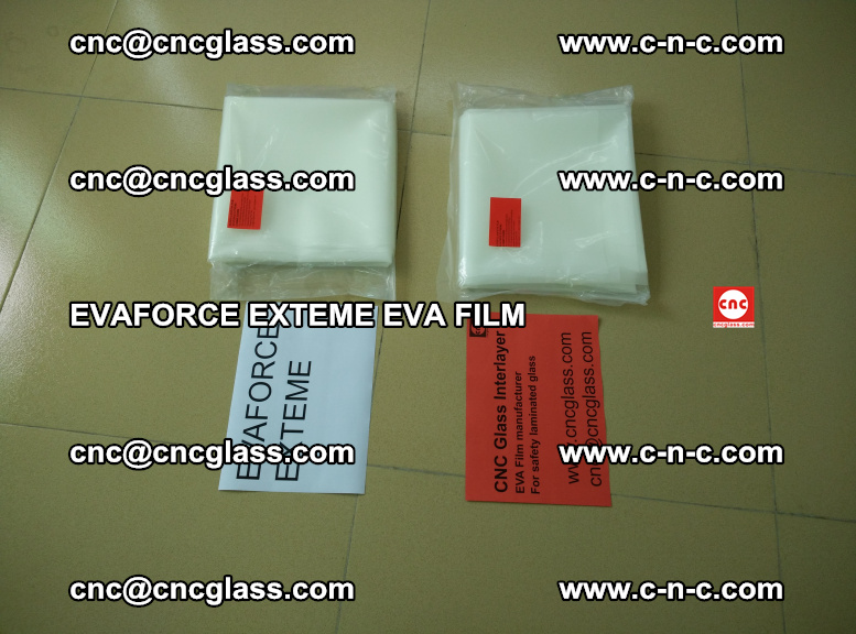 EVAFORCE EXTEME EVA FILM for safety glass laminating (105)