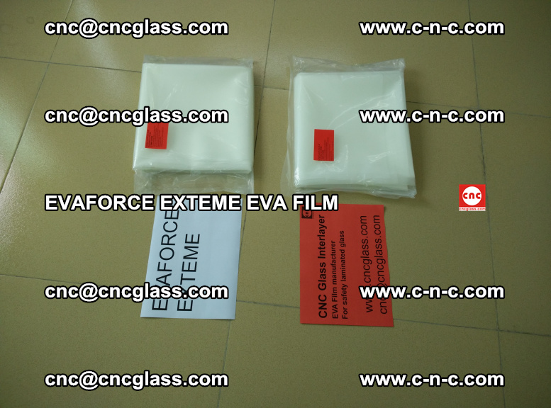 EVAFORCE EXTEME EVA FILM for safety glass laminating (106)