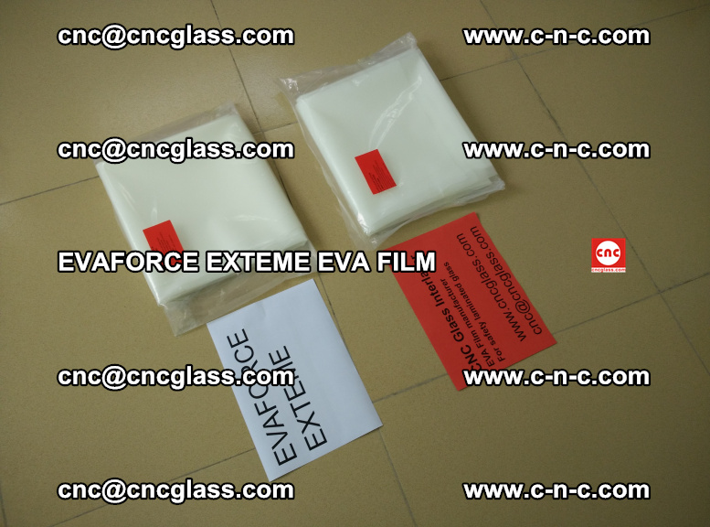 EVAFORCE EXTEME EVA FILM for safety glass laminating (109)