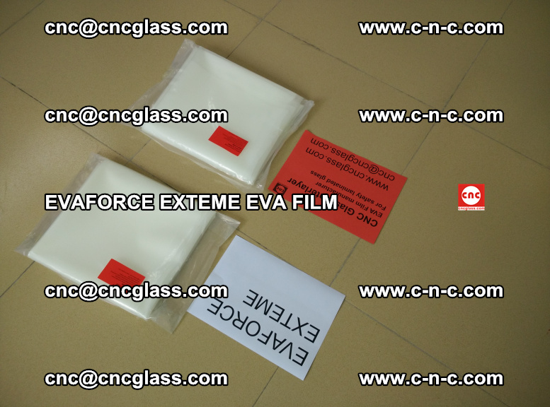 EVAFORCE EXTEME EVA FILM for safety glass laminating (110)
