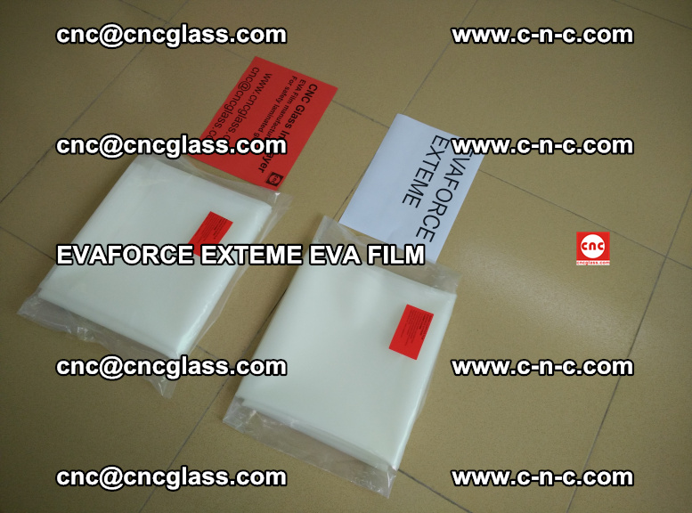 EVAFORCE EXTEME EVA FILM for safety glass laminating (117)