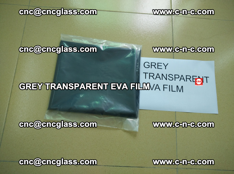 GREY TRANSPARENT EVA FILM for safety decorative laminated glass glazing (1)