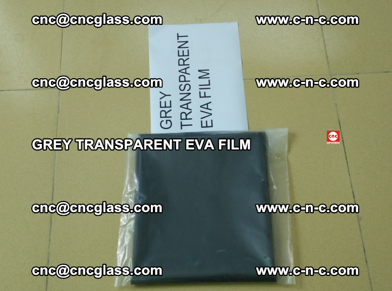 GREY TRANSPARENT EVA FILM for safety decorative laminated glass glazing (10)
