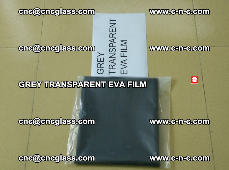 GREY TRANSPARENT EVA FILM for safety decorative laminated glass glazing (12)