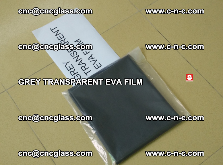 GREY TRANSPARENT EVA FILM for safety decorative laminated glass glazing (13)