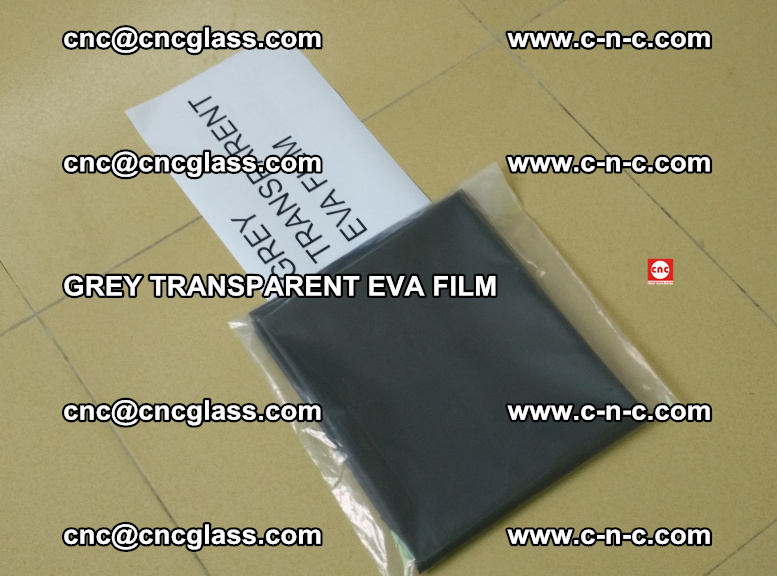 GREY TRANSPARENT EVA FILM for safety decorative laminated glass glazing (14)