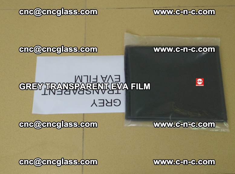 GREY TRANSPARENT EVA FILM for safety decorative laminated glass glazing (17)