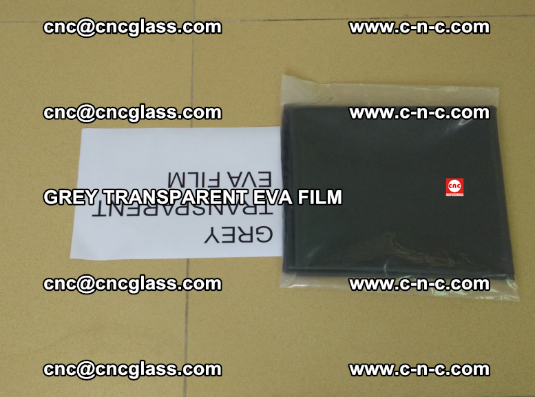 GREY TRANSPARENT EVA FILM for safety decorative laminated glass glazing (18)