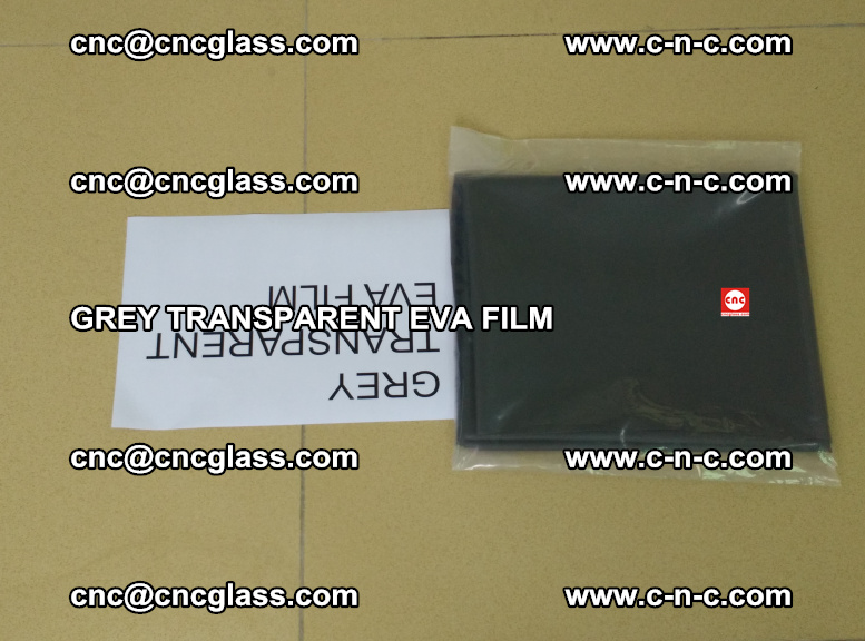 GREY TRANSPARENT EVA FILM for safety decorative laminated glass glazing (19)