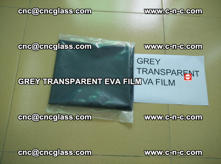 GREY TRANSPARENT EVA FILM for safety decorative laminated glass glazing (2)