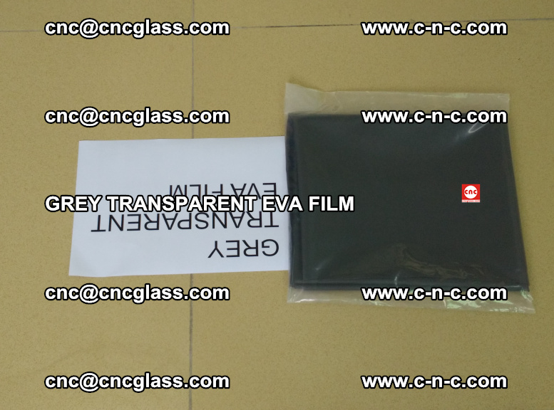 GREY TRANSPARENT EVA FILM for safety decorative laminated glass glazing (20)