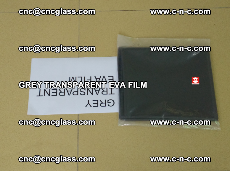 GREY TRANSPARENT EVA FILM for safety decorative laminated glass glazing (21)