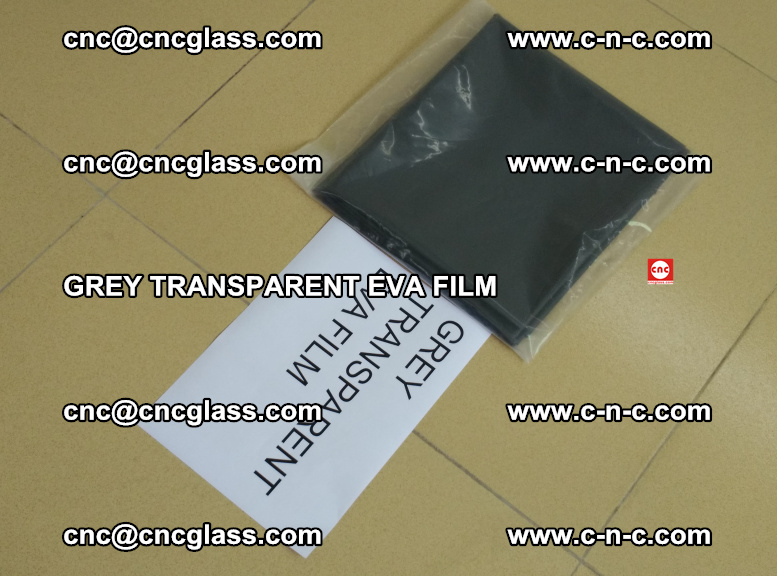 GREY TRANSPARENT EVA FILM for safety decorative laminated glass glazing (22)