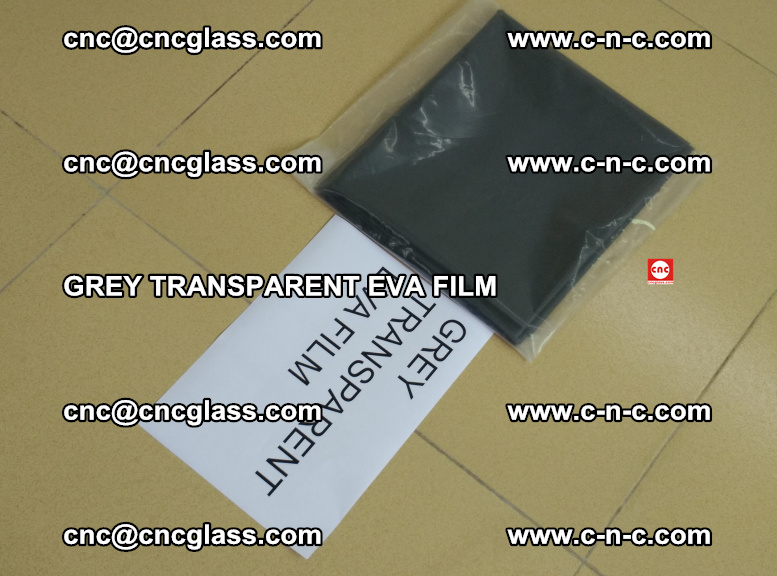 GREY TRANSPARENT EVA FILM for safety decorative laminated glass glazing (24)