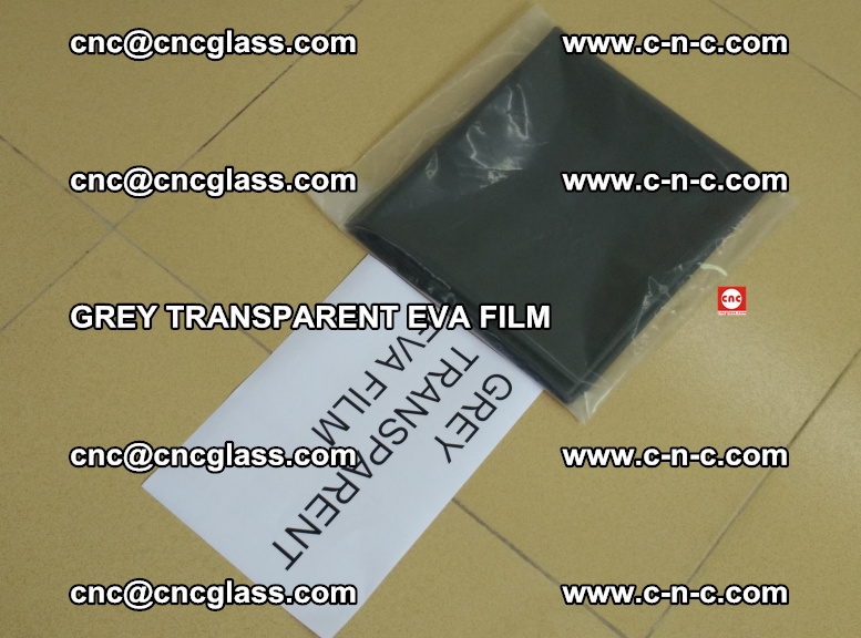 GREY TRANSPARENT EVA FILM for safety decorative laminated glass glazing (25)