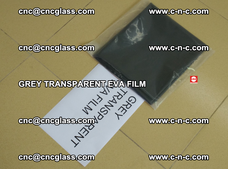GREY TRANSPARENT EVA FILM for safety decorative laminated glass glazing (26)