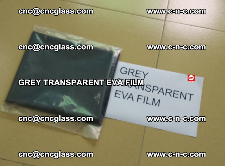 GREY TRANSPARENT EVA FILM for safety decorative laminated glass glazing (28)