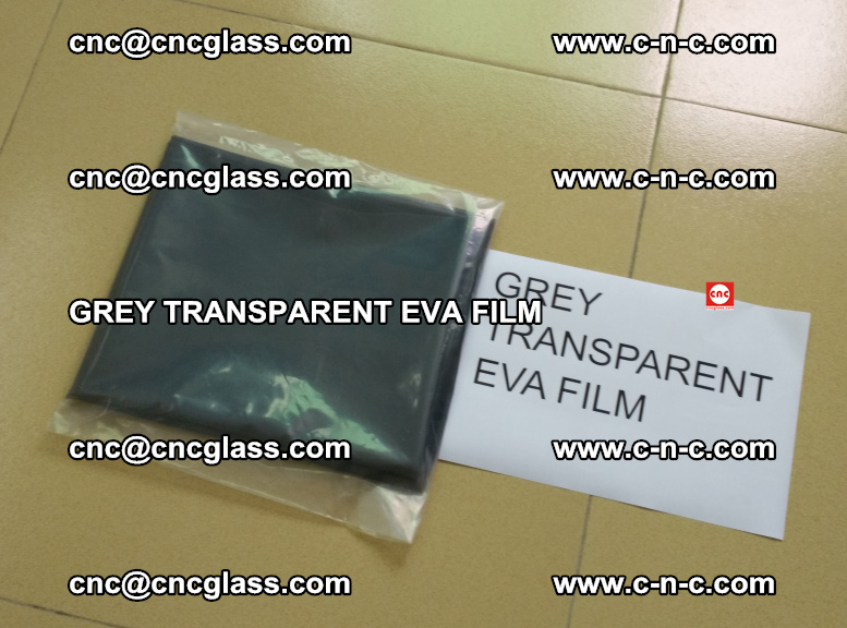 GREY TRANSPARENT EVA FILM for safety decorative laminated glass glazing (30)