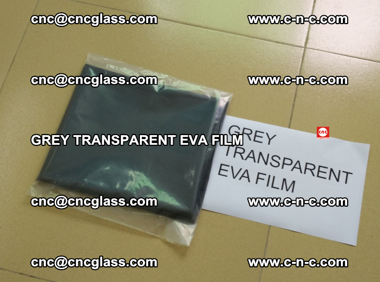 GREY TRANSPARENT EVA FILM for safety decorative laminated glass glazing (32)