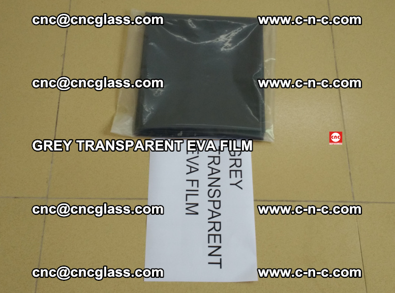 GREY TRANSPARENT EVA FILM for safety decorative laminated glass glazing (33)