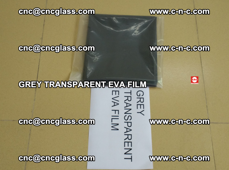GREY TRANSPARENT EVA FILM for safety decorative laminated glass glazing (34)