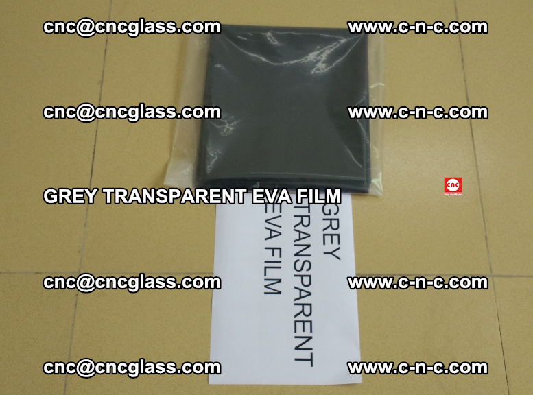 GREY TRANSPARENT EVA FILM for safety decorative laminated glass glazing (35)