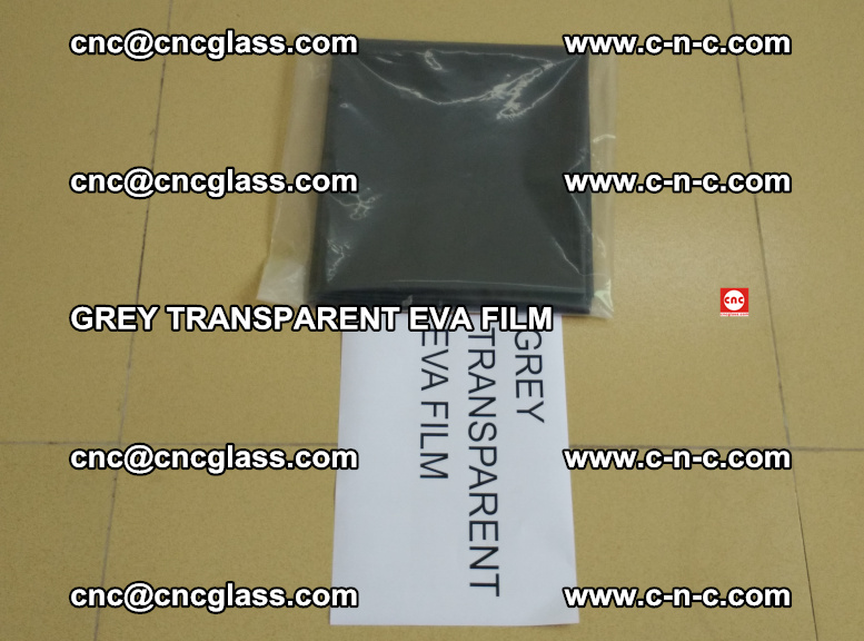 GREY TRANSPARENT EVA FILM for safety decorative laminated glass glazing (36)