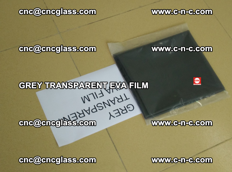 GREY TRANSPARENT EVA FILM for safety decorative laminated glass glazing (38)