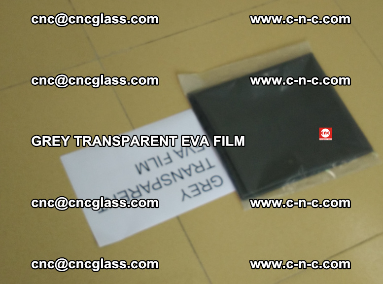 GREY TRANSPARENT EVA FILM for safety decorative laminated glass glazing (39)