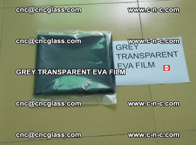 GREY TRANSPARENT EVA FILM for safety decorative laminated glass glazing (4)