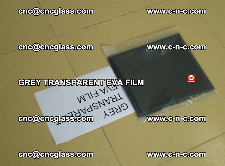 GREY TRANSPARENT EVA FILM for safety decorative laminated glass glazing (40)