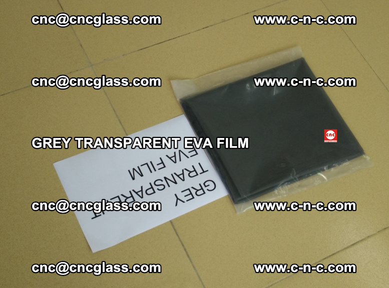 GREY TRANSPARENT EVA FILM for safety decorative laminated glass glazing (41)