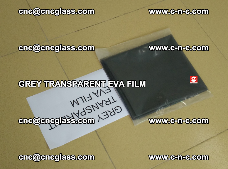 GREY TRANSPARENT EVA FILM for safety decorative laminated glass glazing (42)