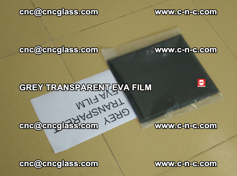GREY TRANSPARENT EVA FILM for safety decorative laminated glass glazing (43)