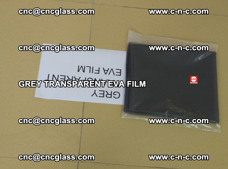 GREY TRANSPARENT EVA FILM for safety decorative laminated glass glazing (44)