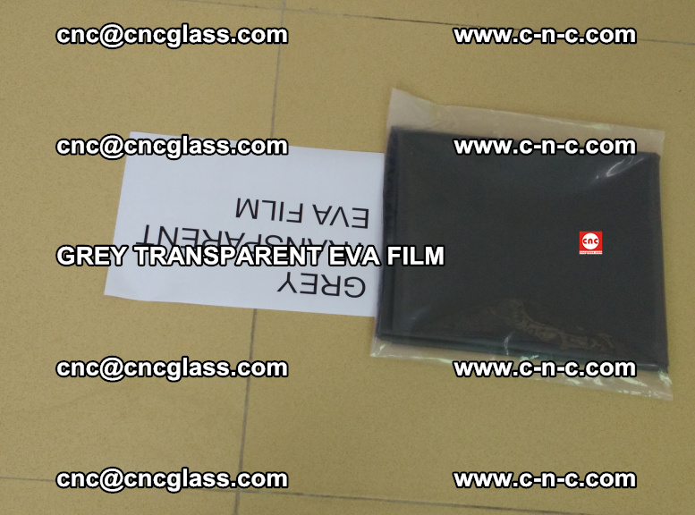 GREY TRANSPARENT EVA FILM for safety decorative laminated glass glazing (45)