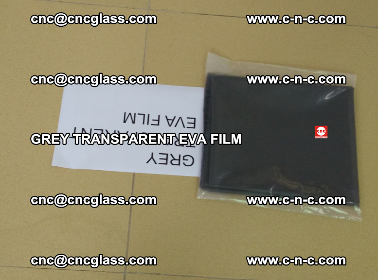 GREY TRANSPARENT EVA FILM for safety decorative laminated glass glazing (46)