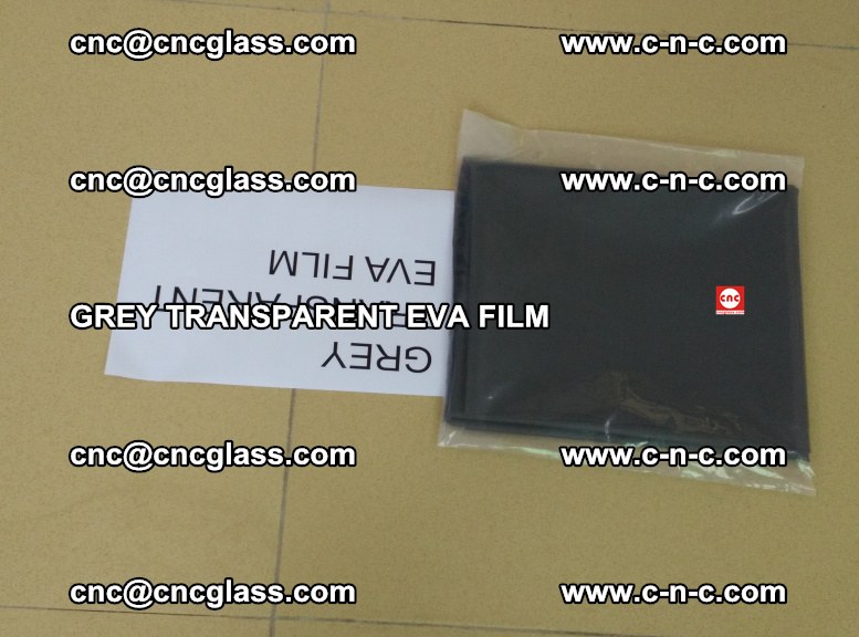 GREY TRANSPARENT EVA FILM for safety decorative laminated glass glazing (47)