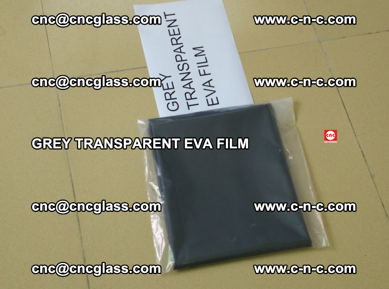 GREY TRANSPARENT EVA FILM for safety decorative laminated glass glazing (48)