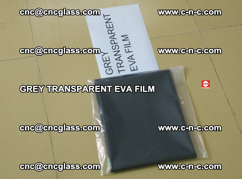 GREY TRANSPARENT EVA FILM for safety decorative laminated glass glazing (49)