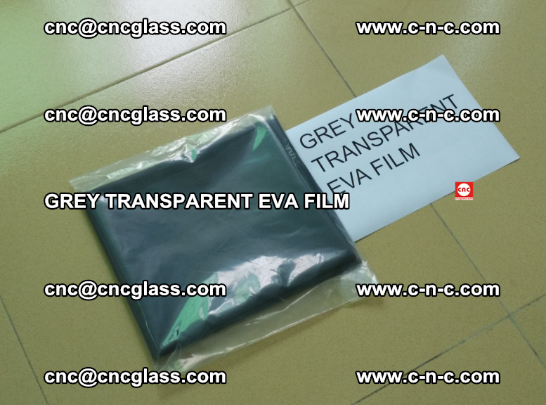 GREY TRANSPARENT EVA FILM for safety decorative laminated glass glazing (5)