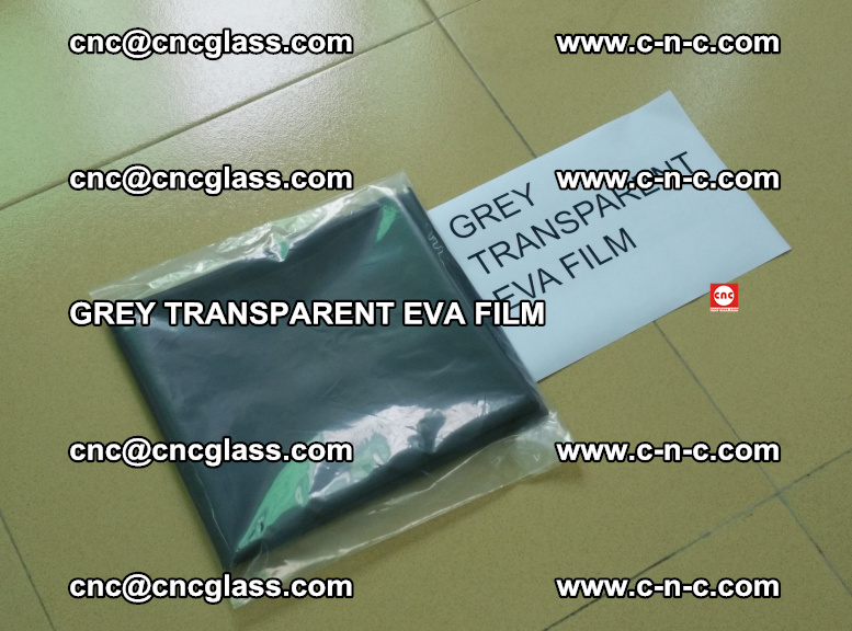 GREY TRANSPARENT EVA FILM for safety decorative laminated glass glazing (6)