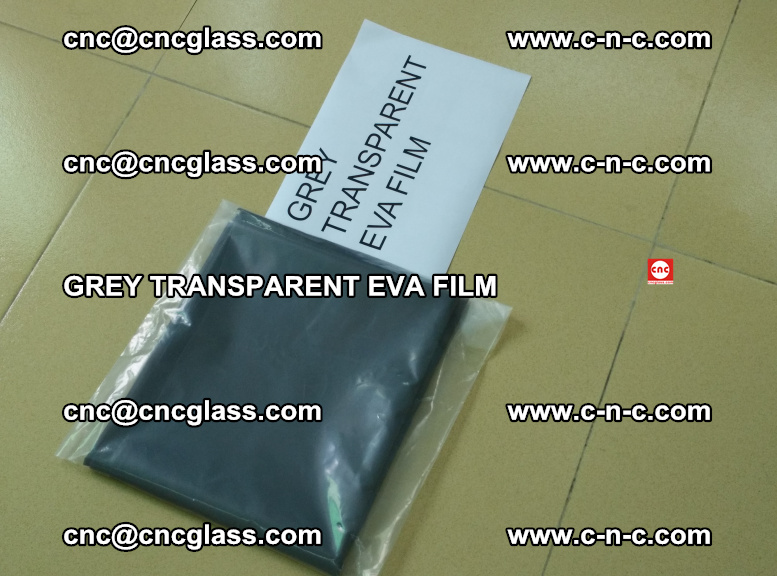 GREY TRANSPARENT EVA FILM for safety decorative laminated glass glazing (7)